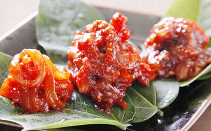 チョッカル(海鮮キムチ)